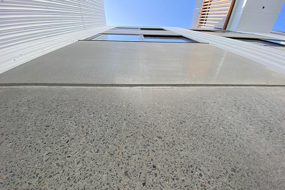 polished precast concrete
