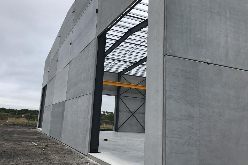 facade concrete precast panels